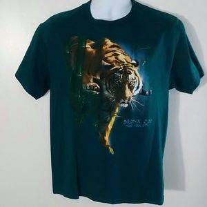 Tiger Bronx Zoo New York City T-SHIRT